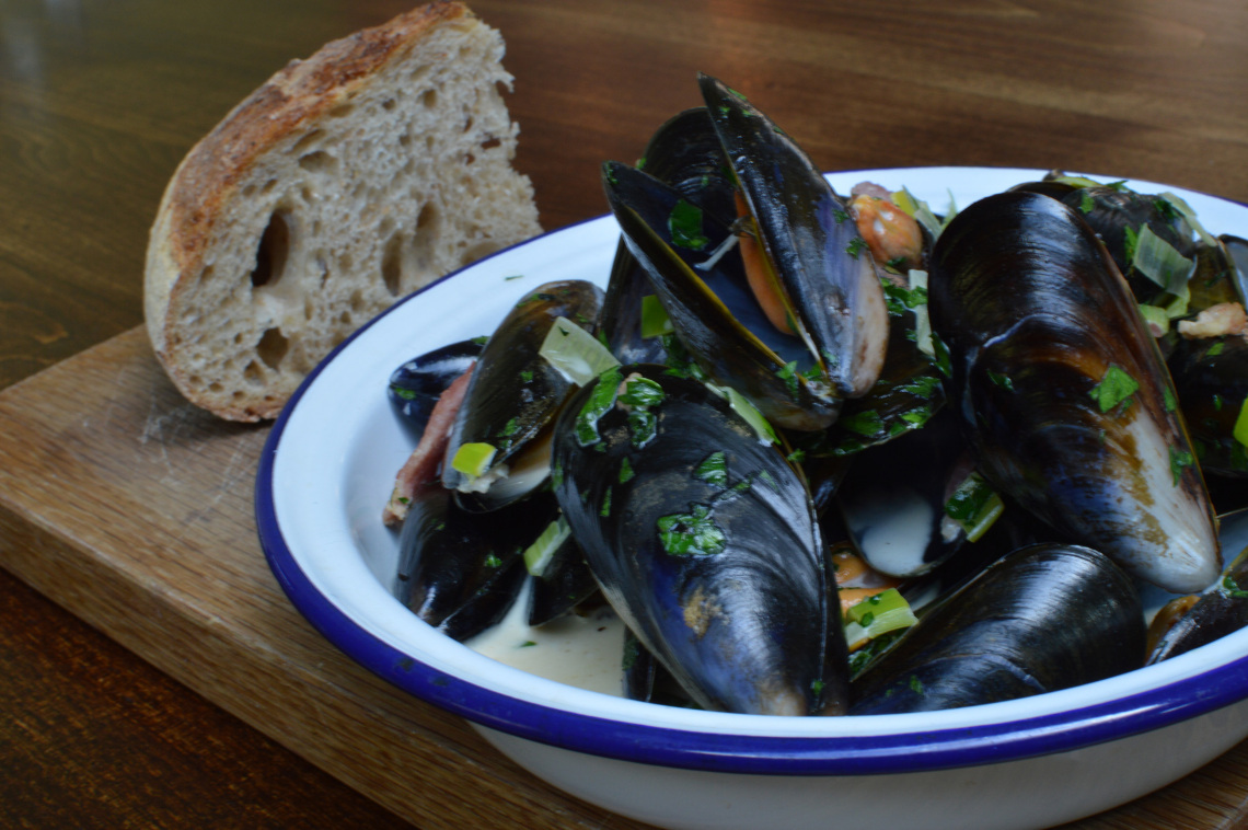 Mussels at Ruddington Arms